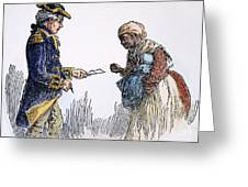Vermont: Manumission, 1777 Greeting Card