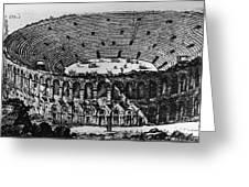 Verona: Amphitheater Greeting Card