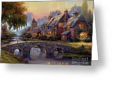 Verona Bridge Greeting Card