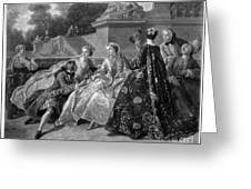 Versailles: Court Life Greeting Card