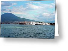 Vesuvio Greeting Card