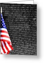 Veterans Memorial  Greeting Card