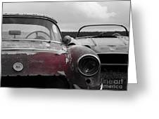 Vettes At Rest Greeting Card