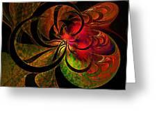 Vibrant Bloom Greeting Card