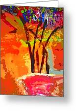 Vibrant Bouquet Greeting Card