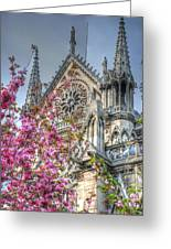 Vibrant Cathedral Greeting Card