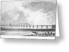 Victoria Bridge Greeting Card