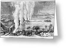 Victoria Falls, C1860 Greeting Card