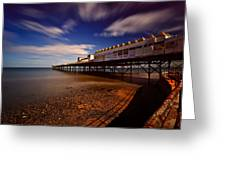 Victoria Pier Greeting Card
