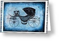Victorian Coach Greeting Card