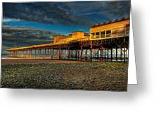 Victorian Pier Greeting Card by Adrian Evans