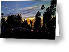 Victory Blvd 4 Greeting Card