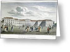 Vienna, 1823 Greeting Card