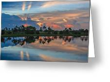 Viera Sunrise Greeting Card