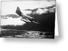 Vietnam War: A4 Skyhawk Greeting Card
