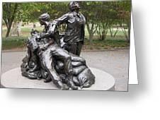 Vietnam Women's Memorial Greeting Card