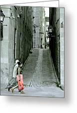 Vieux Montreal  Greeting Card