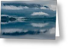 View At Sunset From The Lake Hotel In Killarney Ireland Greeting Card