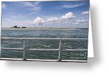 View From Across The Bay Greeting Card
