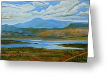View From Chimney Rock Greeting Card