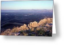 View From Citadel Greeting Card