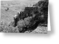 View From Grand Canyon Village Greeting Card