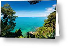 View From Khao-lak Greeting Card