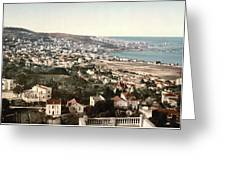View From Mustapha - Algiers Algeria Greeting Card