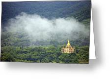 View From Phu Si Hill Greeting Card