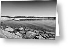 View From The Boat Ramp Greeting Card