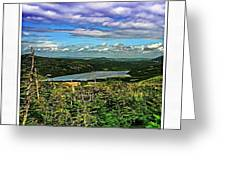 View From The Hilltop 2 Greeting Card