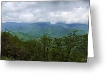 View From The Parkway Greeting Card