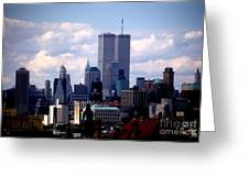 View From The Soldiers And Sailors Arch Brooklyn Greeting Card
