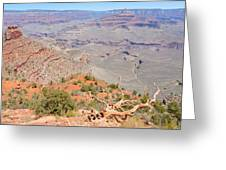 View From The South Kaibab Trail II Greeting Card