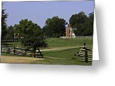 View Of Appomattox Courthouse 1 Greeting Card