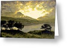 View Of Ben Bulben Greeting Card