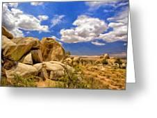View Of Joshua Tree Greeting Card
