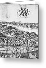 View Of London, 1647 Greeting Card