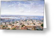 View Of Sebastopol  Greeting Card