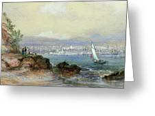 View Of Sydney Harbour Greeting Card