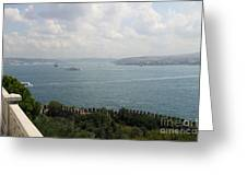 View Of The Marmara Sea - Istanbul Greeting Card