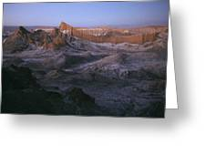 View Of The Valley Of The Moon Greeting Card by Joel Sartore