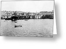 View Of Tophane - Istanbul - From The Sea - Turkey Greeting Card