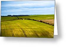 View On Fields Greeting Card