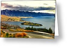 View Over Welly Greeting Card