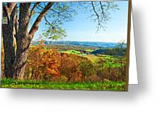 View With Caution Greeting Card