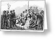 Vigilante Court, 1874 Greeting Card by Granger