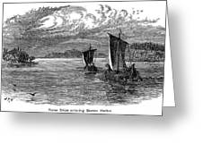 Vikings: North America Greeting Card