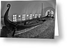 Vikingship Greeting Card