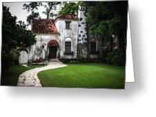 Villa Girasol Greeting Card